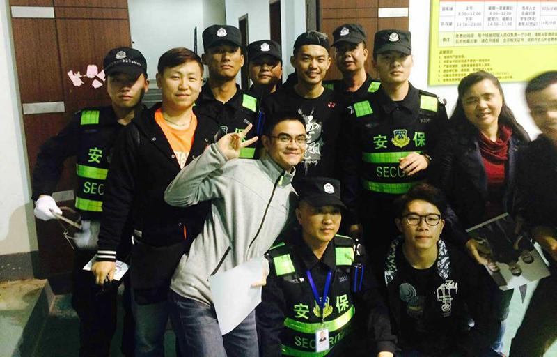 中國羽毛球俱樂部超級聯賽安保項目-廣東保安服務公司